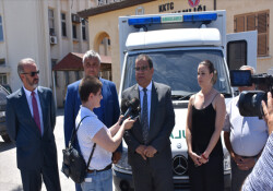 Esentepe Sağlık Merkezi'ne ambulans bağışlandı