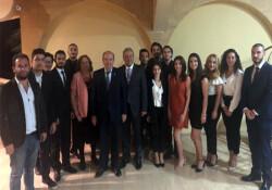 Tatar, GAÜ Siyaset Bilimi ve Uluslararası İlişkiler Kulübü tanışma ve kaynaşma yemeğine katıldı