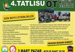 Tatlısu Ot Kültür Festivali yarın gerçekleşiyor