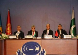 TC Dışişleri Bakan Çavuşoğlu, Ekonomik İşbirliği Teşkilatı 24. Dönem Başkanlığı'na kabul edildi