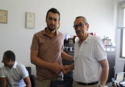 TMTF'den Türkay Akpınar'a ziyaret
