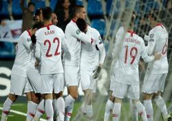 Türkiye A Milli Futbol Takımı, Avrupa yolundaki son maçını rahat kazandı