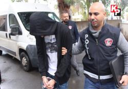 Tutuklanan uyuşturucu zanlısı uyuşturucu krizi geçirdi