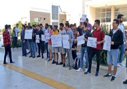 Yabancı uyruklu öğrenciler DAÜ'de öğrenci başkanlığına aday olmak istiyor