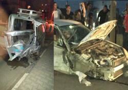 Yeniboğaziçi'nde kaza! İki kişi yaralandı...