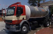 Akdoğan Belediyesi'ne ait tankere el konuldu