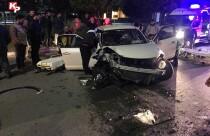 Lefkoşa'da feci kaza: 2 kişi yaralandı