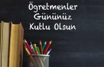Bugün 24 Kasım Öğretmenler Günü... Tüm öğretmenlerimizin Öğretmenler Günü'nü kutlarız..