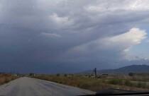 Yağışlı hava Mağusa ve Karpaz bölgelerinde de etkili oldu