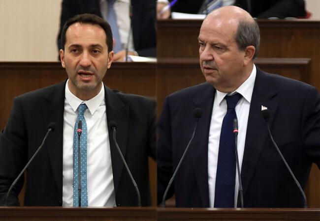 """Meclis'te """"Tatar'ın Londra ziyareti masraflarını kim ödedi"""" tartışması"""