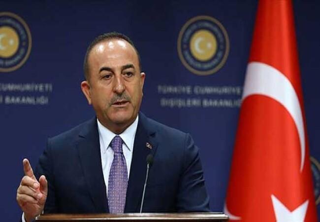 """Çavuşoğlu: """"Akdeniz'de gemilerimi korumam için gereken önlemleri alırım"""""""