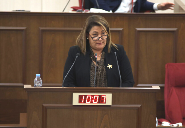 """Manavoğlu, Kıbrıs Postası'nın manşetini işaret etti: """"Konuşmaların yüzde 80'i bütçe ile alakalı değil"""""""