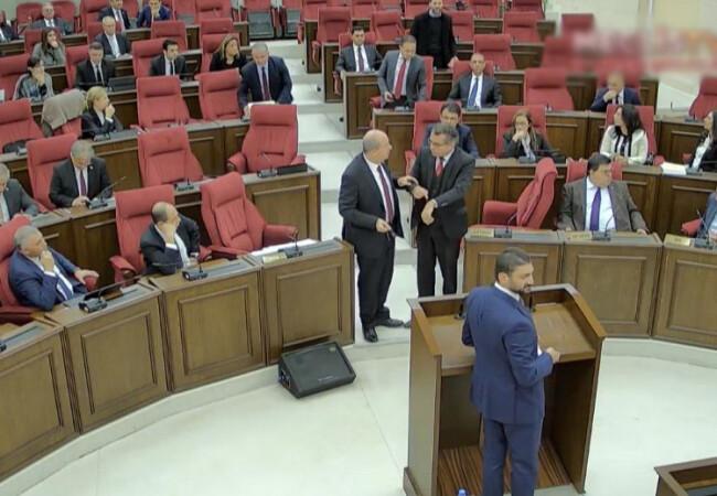 Bütçe görüşmeleri tartışmalı başladı: Nisap sayısına ulaşan iktidar muhalefeti beklemedi