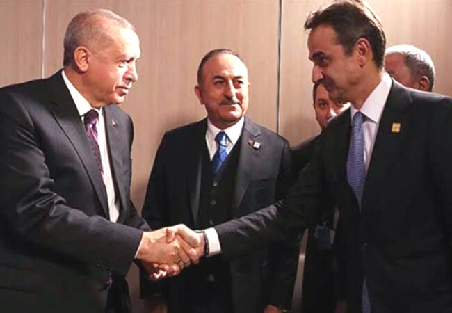 """""""Türkiye - Yunanistan ilişkisindeki zorluklar iyi niyetle aşılabilir"""""""