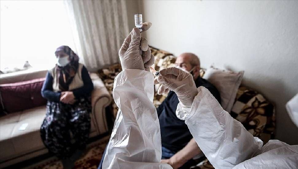 Συνολικό ποσό δόσης πρώτου και δεύτερου εμβολίου που εφαρμόζεται στην Τουρκία 20 εκατομμύρια