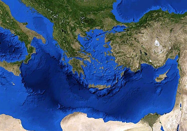 """Η Νότια Κύπρος εξαιρείται από το EASTMED … Ελληνικός Τύπος: """"4-συμμαχία"""