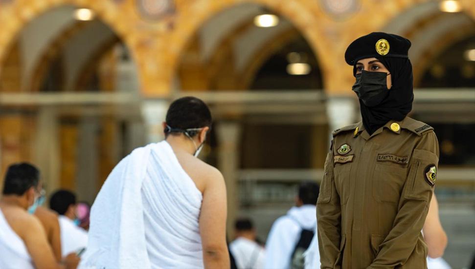 Γυναίκες φύλακες ασφαλείας στο Masjid al-Haram