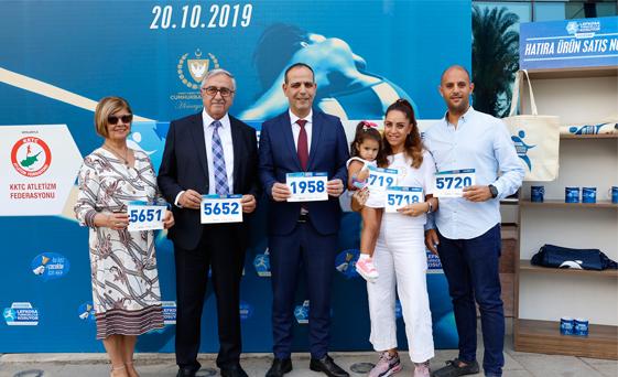 Cumhurbaşkanı Akıncı Lefkoşa Maratonu'na katılacak