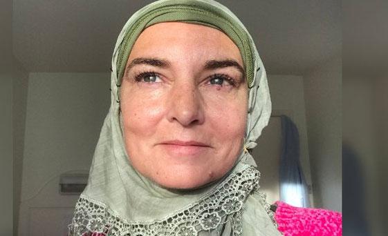 Dünyaca ünlü Irlandalı Kadın şarkıcı Sinead Oconnor Müslüman Oldu