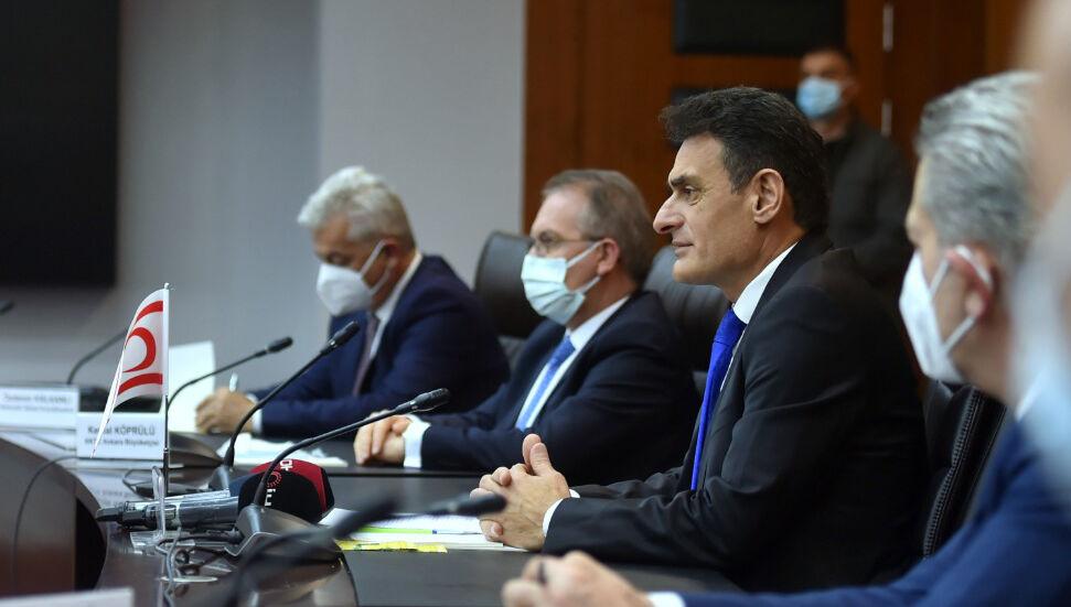 Ο Dursun Oğuz συνεχίζει τις επαφές του στην Άγκυρα: Εφαρμογή του προγράμματος πρωτοκόλλου