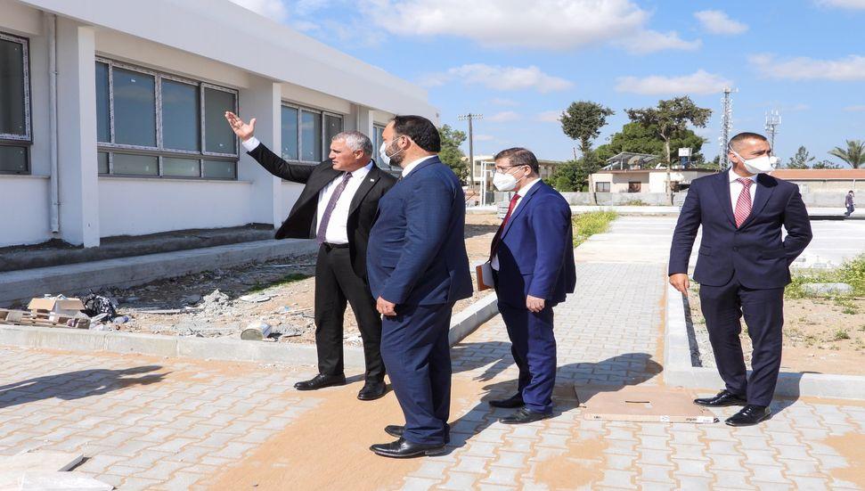Η κατασκευή των Olgun Uncaoğlu και Hasan Sadıkoğlu, Turkishskele Turkish Maarif College