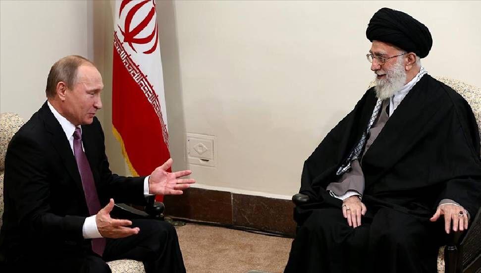 Ο Ρώσος πρόεδρος Πούτιν στέλνει ένα μήνυμα στον Ιρανό ηγέτη Χαμενεΐ