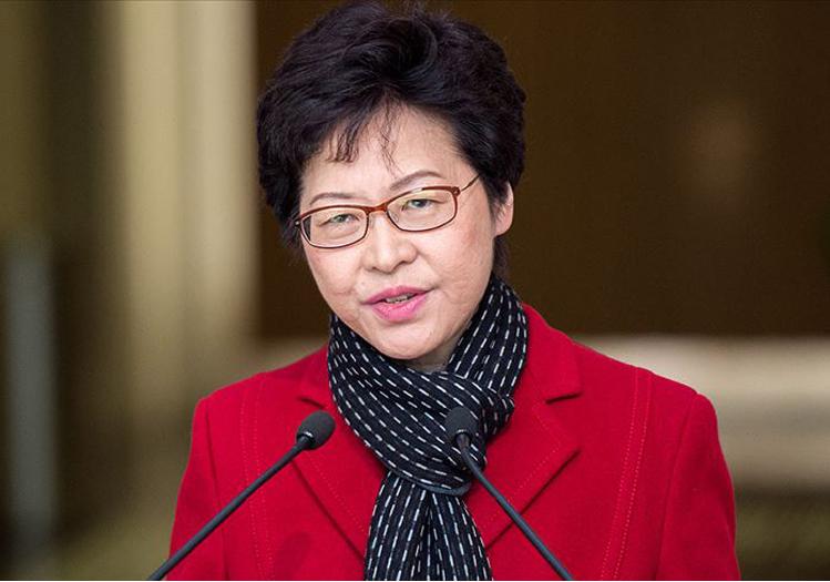Ο διευθύνων σύμβουλος του Χονγκ Κονγκ Lam σχεδιάζει αλλαγή στο εκλογικό σύστημα της Κίνας