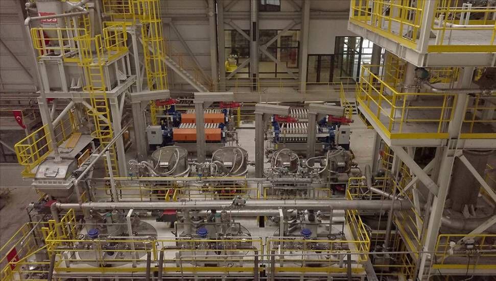 Θα εγκαινιαστεί η πρώτη εγκατάσταση παραγωγής λιθίου της Τουρκίας