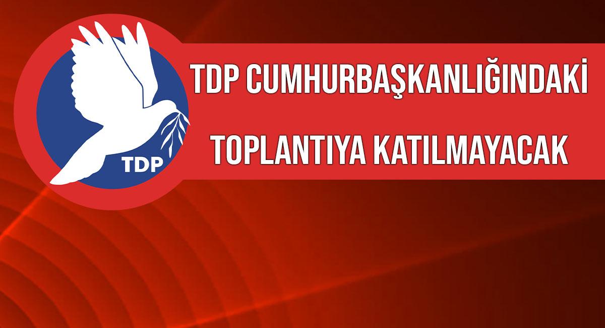 Το TDP θα πραγματοποιηθεί σήμερα με τον Mevlüt Çavuşoğlu στην Προεδρία.