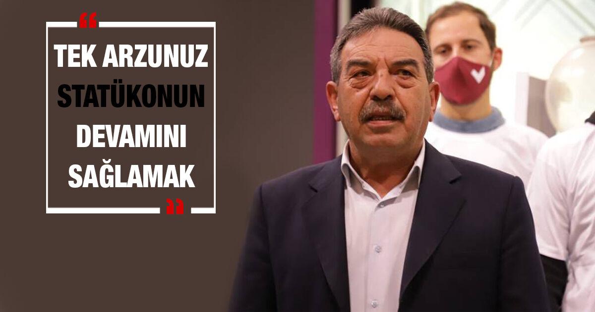 """""""Ο Hasipoğlu, όπως και ο Πρόεδρος, βρίσκεται σε έναν φανταστικό κόσμο."""