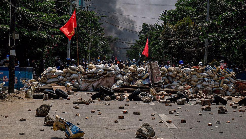 Οι θάνατοι της Μιανμάρ ως αποτέλεσμα της επέμβασης των δυνάμεων ασφαλείας σε διαμαρτυρίες