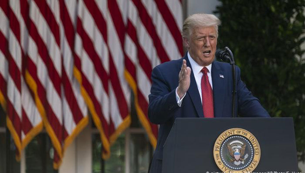 Η επείγουσα στάση του Ντόναλντ Τραμπ στην Ουάσινγκτον για την τελετή εγκαινίων του Τζο Μπάιντεν