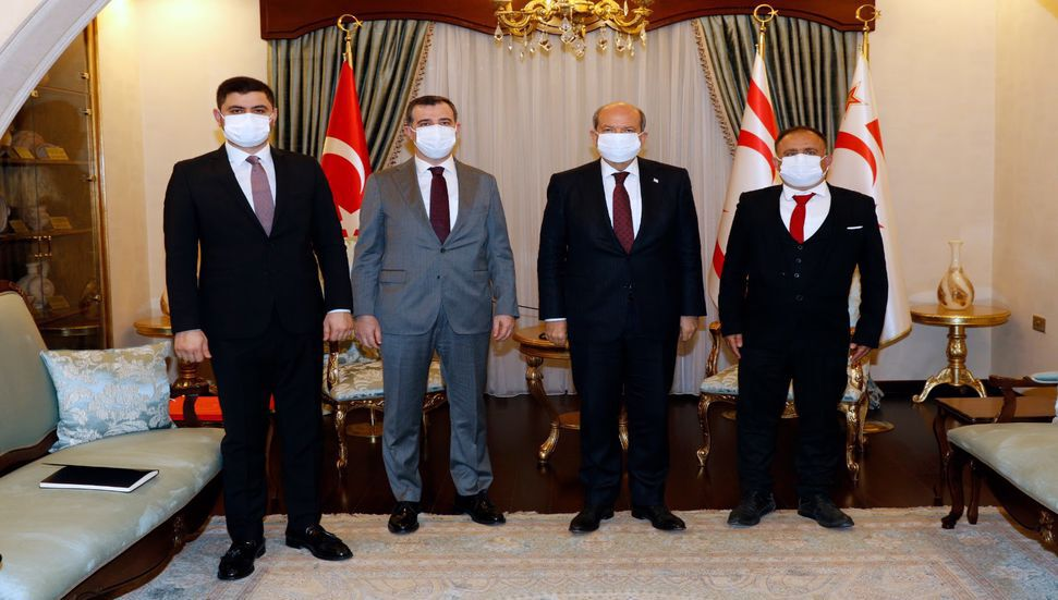 """""""Η υποστήριξη του Οργανισμού Ισλαμικής Συνεργασίας, του Τουρκοκυπριακού λαού"""