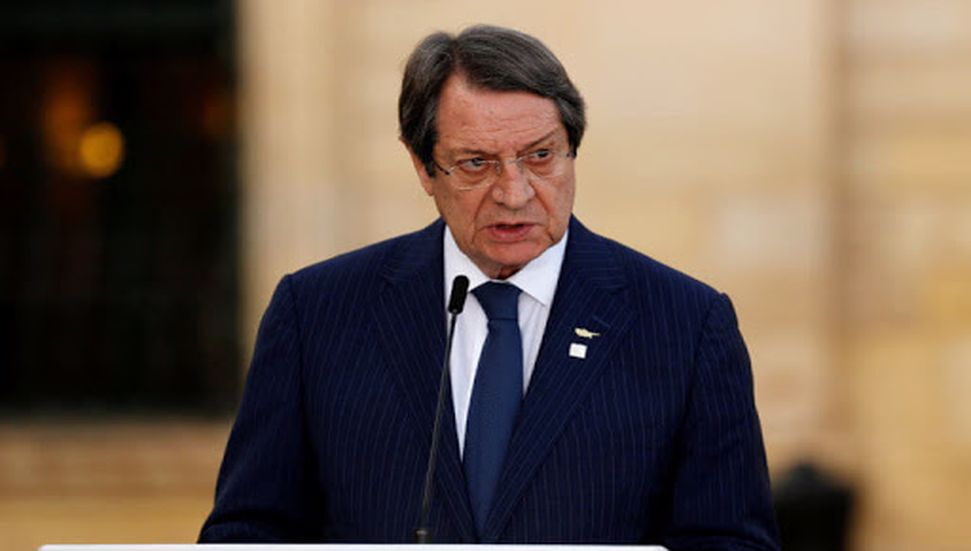 Γραπτή δήλωση του Έλληνα ηγέτη Αναστασιάδη για τις διακοπές των Σεϋχελλών