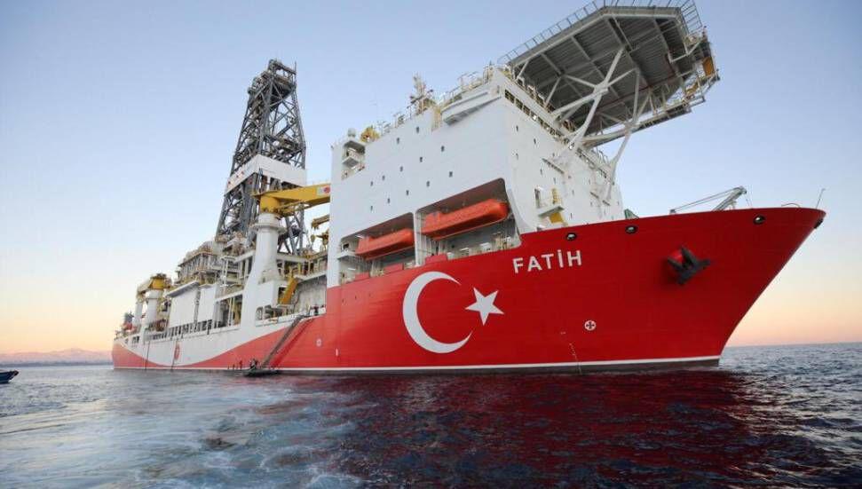 Το νέο φρεάτιο εξερεύνησης του πλοίου Fatih, Μαύρη Θάλασσα, βρίσκεται στο δρόμο προς την Amasra-1