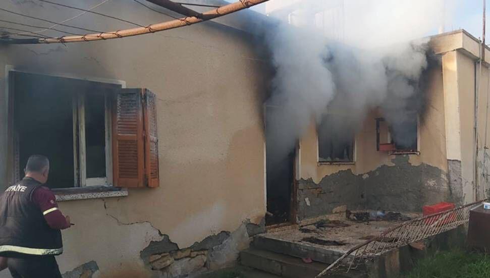 Πυρκαγιά ξέσπασε σε ένα σπίτι στο Alayköy … 75χρονος ιδιοκτήτης τραυματίστηκε